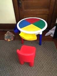 duplo table with chairs tot tutor table tots tutors table tot tutors round table