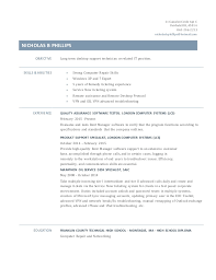technical support specialist resume helpdesk 100 movie theater