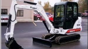 bobcat 331 331e 334 compact excavator service repair workshop