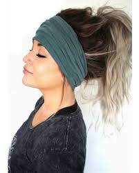 wide headband here s a great deal on spruce scrunch headband wide headband