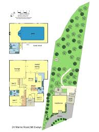 Residences Evelyn Floor Plan by Marne Road Mount Evelyn