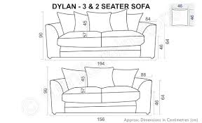 average size of couch standard sofa dimensions full size of 3 seat sofa dimensions best