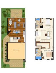 luxury townhouse floor plans key west luxury townhomes 12th ave indialantic carpenter kessel