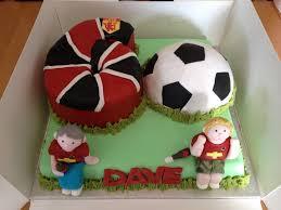 60th manchester united football cake mummy c u0027s cake pantry