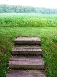 stufen treppe gartenarbeit ideen eine treppe stufen nur für den blick in die ferne