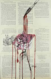 saatchi art painting the roses red drawing by sara riches