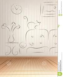 room design sketch royalty free stock image image 16223766