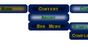 free online html and css menu layout generator blended menu