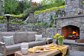 Backyard Fireplace Ideas Outdoor Fireplace Designs Porch Rustic With Ceiling Fan Fireplace