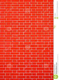 Papier Peint Briques Rouges by Couleur Rouge Lumineuse De Mur De Briques De Texture Photo Stock