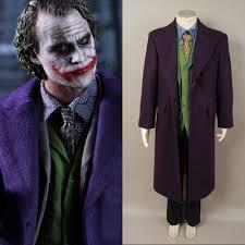 online get cheap joker purple trench coat aliexpress com