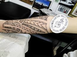 tribal tattoos newport ri tattoos by captain bret polynesian