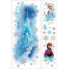 amazon com roommates rmk2739gm frozen ice palace with else and amazon com roommates rmk2739gm frozen ice palace with else and anna peel and stick giant wall decals home improvement