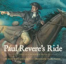 paul revere s ride book paul revere s ride henry wadsworth longfellow elizabeth