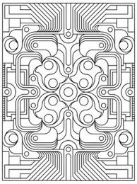 enjoyable geometric coloring books difficult design pages 224