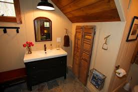 Barn Board Bathroom A Carriage House Goes Barn Board Chic