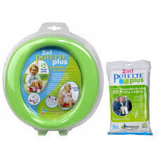 travel potty images Green potette plus port a potty training potty travel jpg