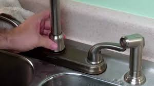 kitchen faucet leak how to fix a gb leaky faucet trimmed
