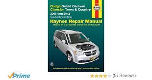 dodge grand caravan u0026 chrysler town u0026 country 2008 2012 repair
