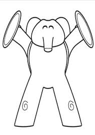 pocoyo coloring pages don u0027t love