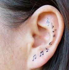 40 best music tattoos images on pinterest music note tattoos