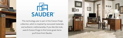 amazon com sauder carson forge technology pier free standing