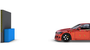 car crash test royalty free video and stock footage
