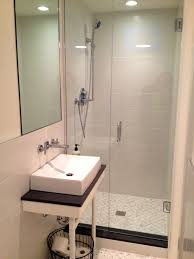 finished bathroom ideas bathroom tasty images about basement bathroom small tiny ideas