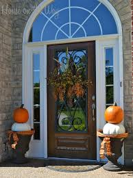 Home Decor Outside 129 Best Fall Indoor And Outdoor Decor Images On Pinterest Fall