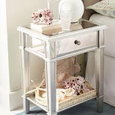 hayworth mirrored silver nightstand pier 1 imports
