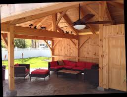 pool house this is an l shaped structure with 3 hip roof rafters