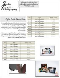 wedding album prices jackie tumaian photography