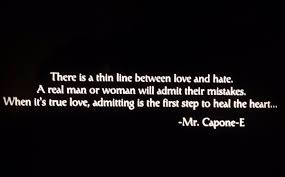 Gangster Love Quotes by Mr Capone E On Twitter