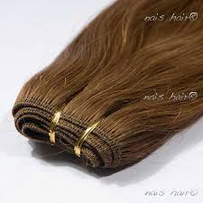 weft hair extensions weft hair extensions 6 medium brown 24 inch