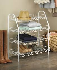 whitmor 4 tier closet shelf walmart com