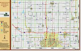 Sd Map Minnehaha County Map Image Gallery Hcpr