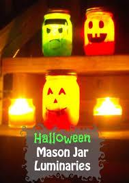 diy halloween mason jar luminaries the craftiest couple