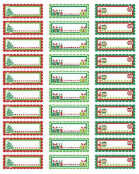 christmas labels free templates 2017 best template examples
