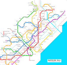 Madrid Subway Map Barcelona Subway Map For Download Metro In Barcelona High