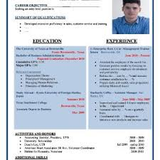 resume format examples letterhead for electrical company job
