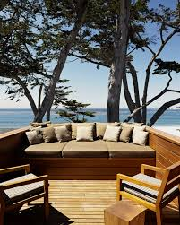 deep seat outdoor cushions deck modern with beach house beachfront