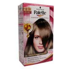 light brown hair dye box with images of brown hair dye model new