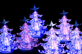 photo of pink led christmas trees free christmas images