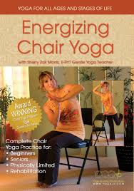 Armchair Yoga For Seniors Energizing Chair Yoga Dvd U2013 Yogajp