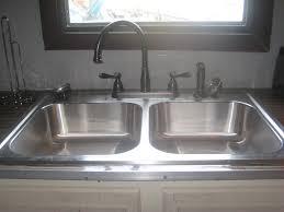 Venetian Bronze Kitchen Faucets Oil Rubbed Bronze Kitchen Faucet With Stainless Sink Kitchen Design