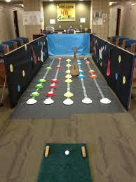 eagle invitational mini golf program each house designs a golf