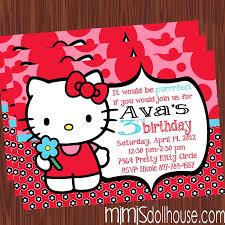 printable hello kitty birthday party ideas hello kitty invitation hello kitty birthday invitation pdf jpeg