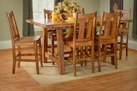 Hardwood Dining Room Furniture Amish Dining Room Kitchen Tables And Chairs Homesquare Furniture