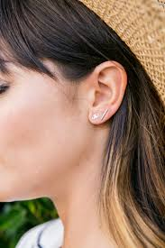 bar stud earrings bar studs