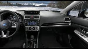 2017 subaru impreza sedan interior 2017 subaru crosstrek interior youtube